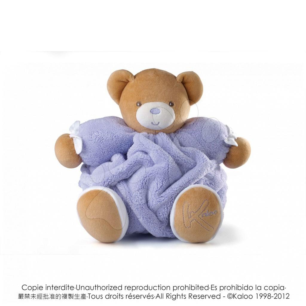 Plyšový medvídek Plume-Lilac Bear Kaloo 25 cm v dárkovém balení pro nejmenší fialový