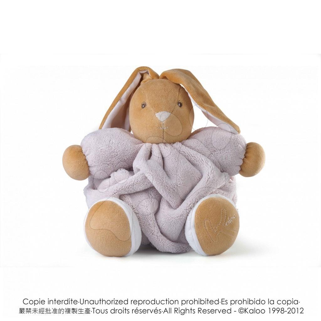 Plyšový králíček Plume-Natural Rabbit Kaloo 25 cm v dárkovém balení pro nejmenší hnědý
