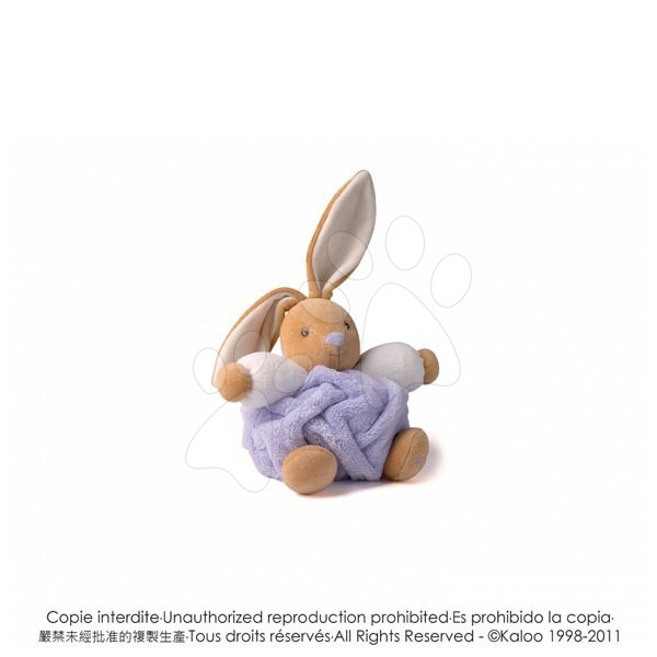 Plyšový králíček Plume-Lilac Rabbit Kaloo 18 cm v dárkovém balení pro nejmenší fialový