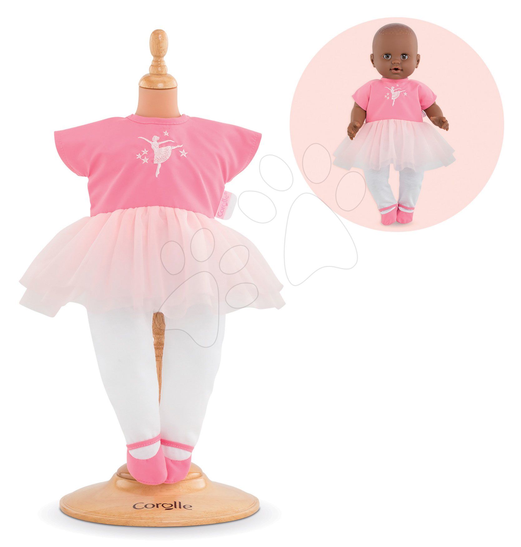 Oblečenie Ballerina Suit Opera Mon Grand Poupon Corolle pre 36 cm bábiku od 24 mes