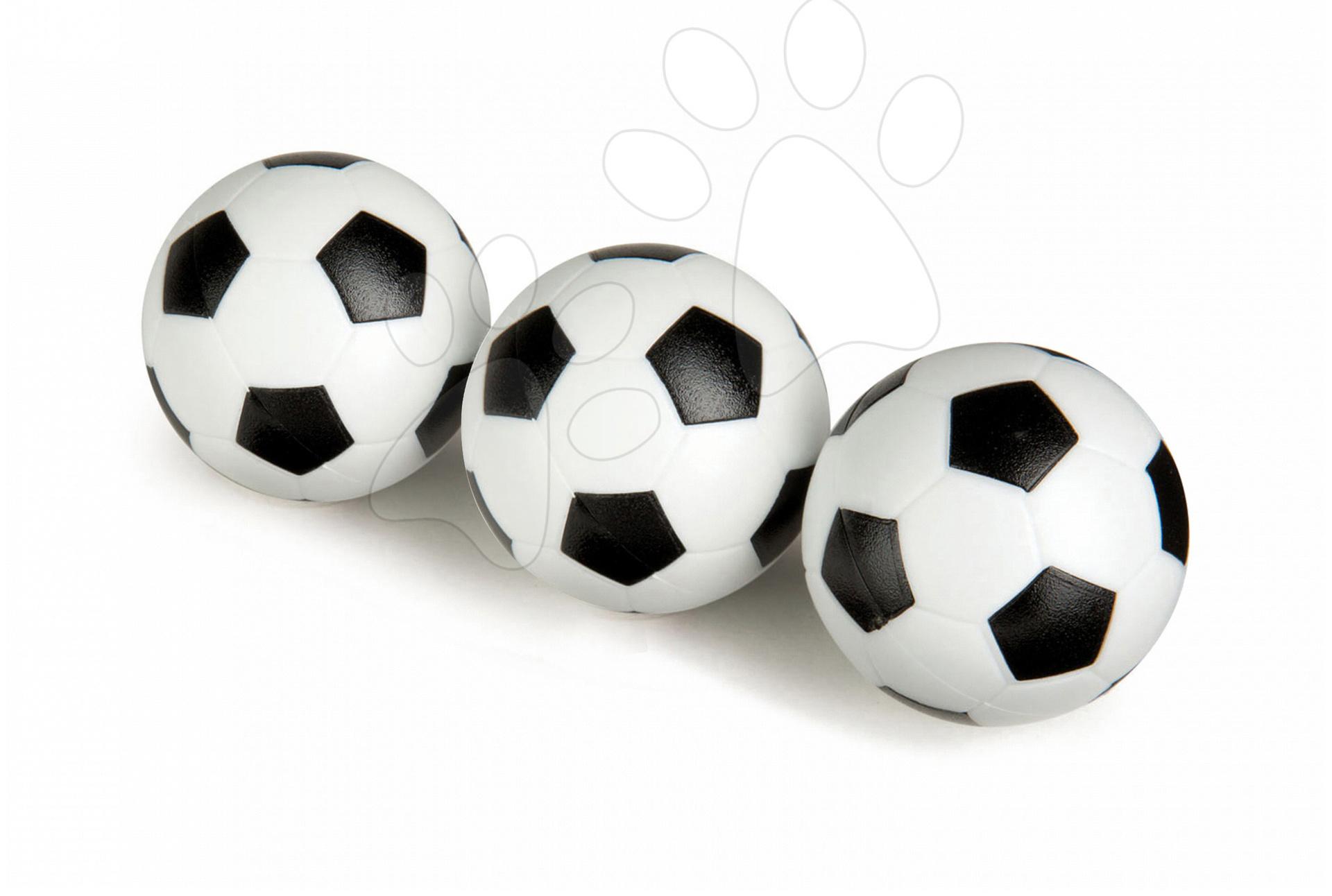 Stolný futbal - Futbalové loptičky Smoby 3 kusy