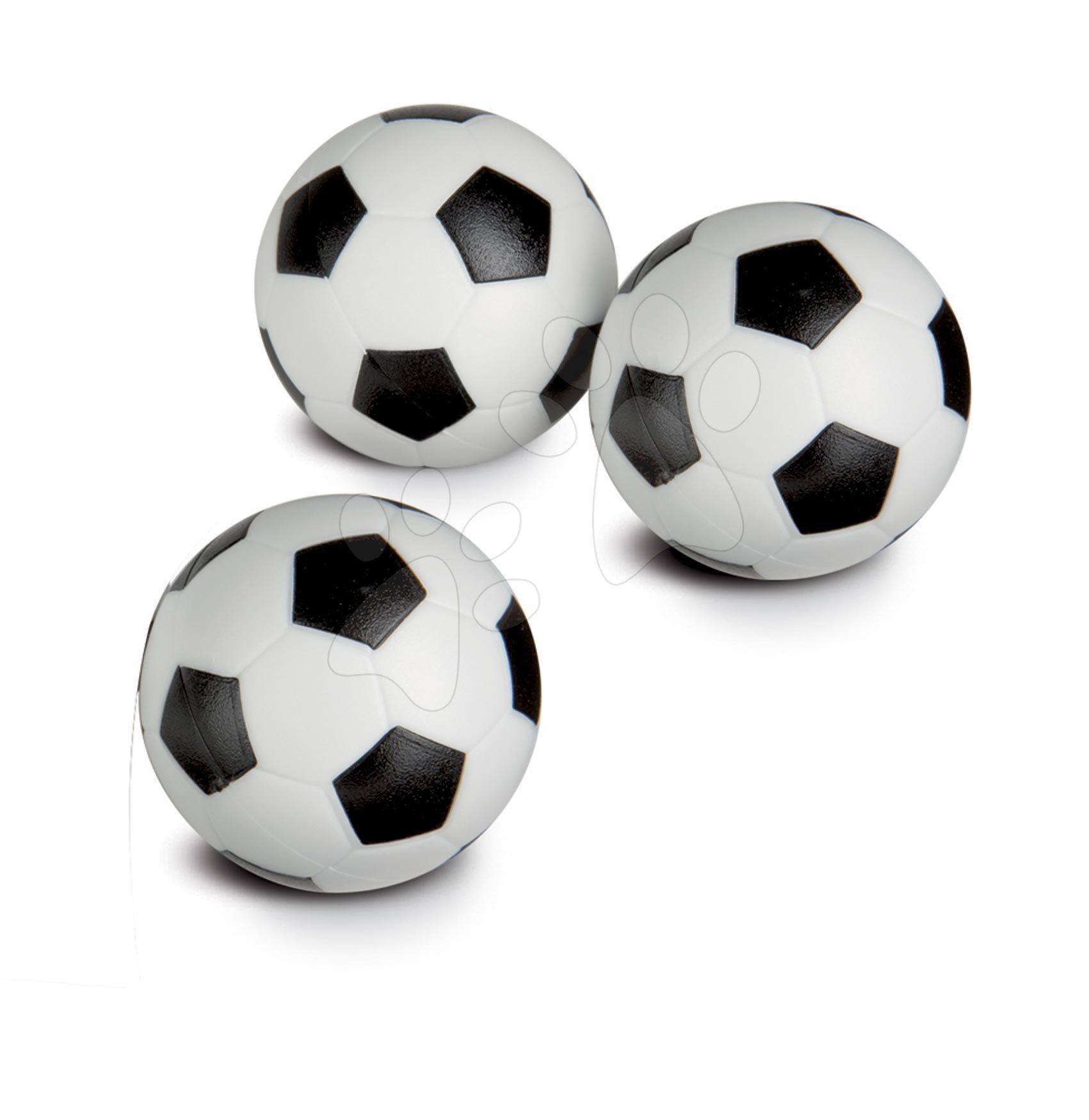 Futbalové loptičky plastové Smoby náhradné 34 mm priemer 3 kusy