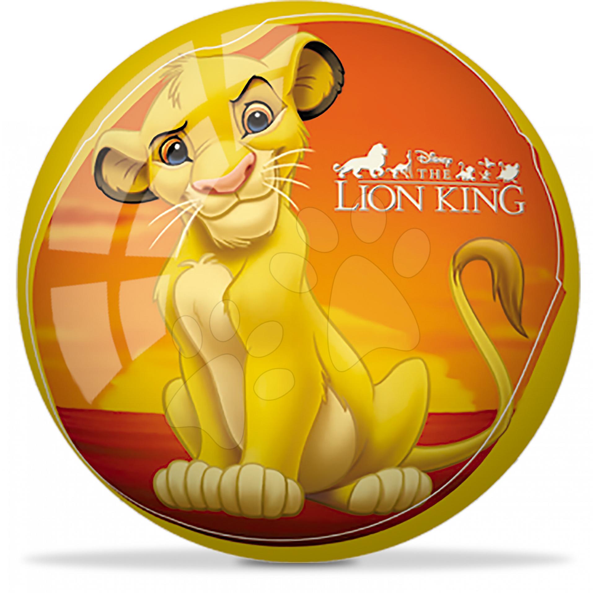 Pohádkový míč Lví král Mondo gumový 23 cm