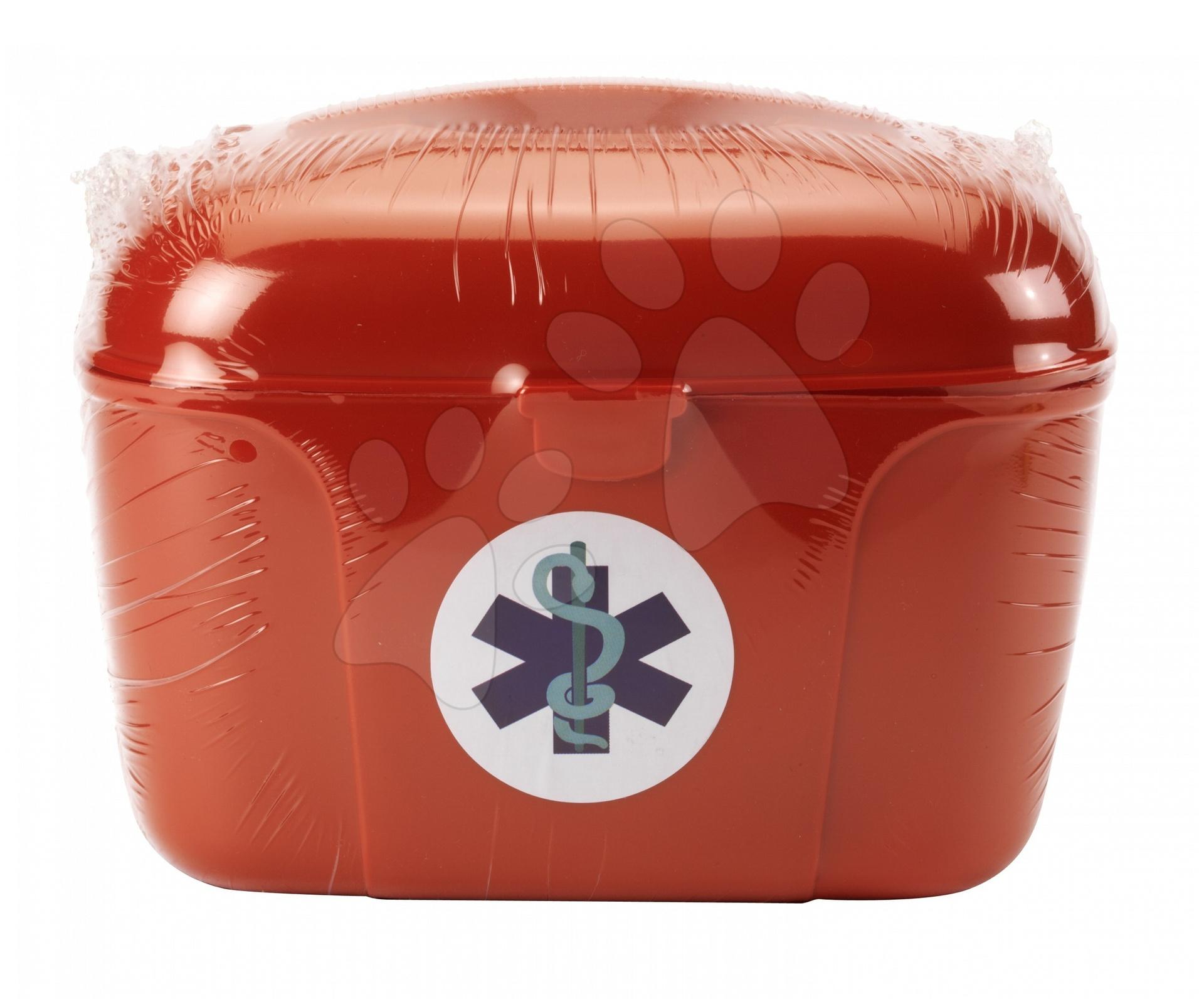 Staré položky - Lekársky kufrík Écoiffier so sádrou a infúziou 11 doplnkov od 18 mes