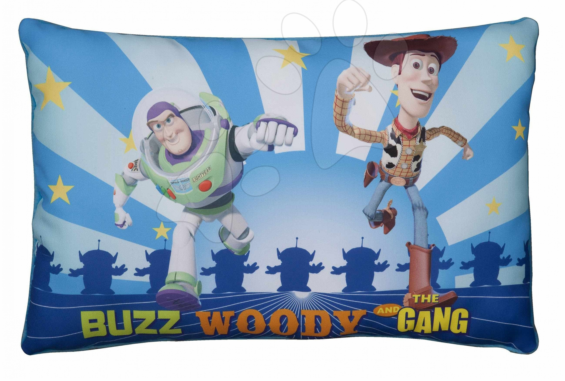 Plyšové vankúše - Vankúš Toy Story 3 Ilanit 40*26 cm