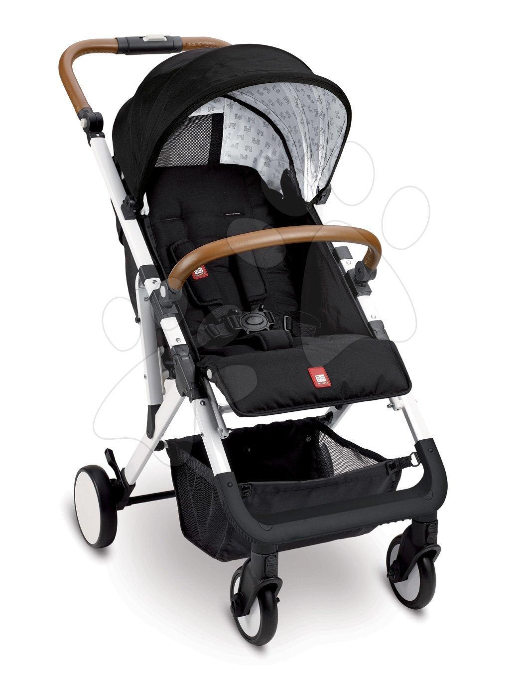 Kočíky - Športový kočík CityLink® III Red Castle skladací s bielou konštrukciou a 5-bodovým bezpečnostným pásom od 0 mesiacov