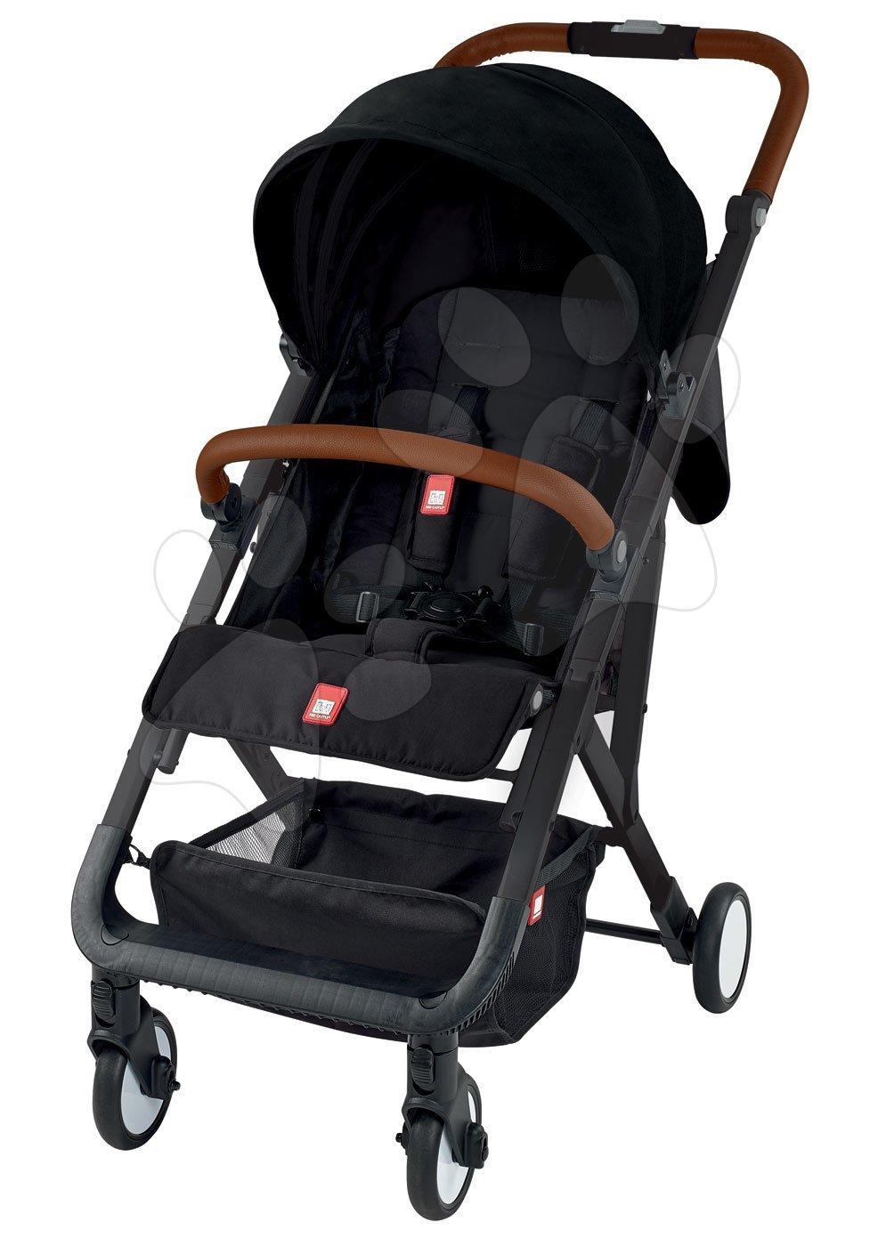 Športový kočík CityLink® III Red Castle skladací, s čiernou konštrukciou a 5-bodovým bezpečnostným pásom od 0 mes