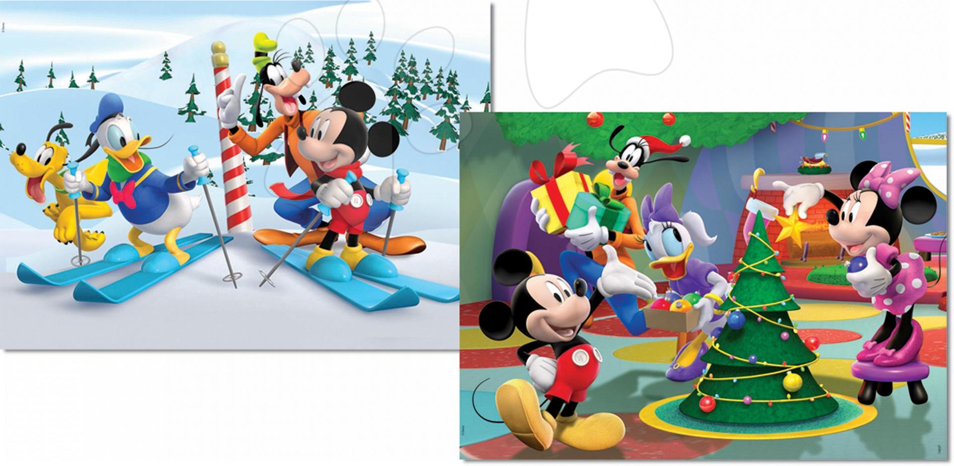 Puzzle Disney Mickey a Minnie Educa 2x 48 dielov