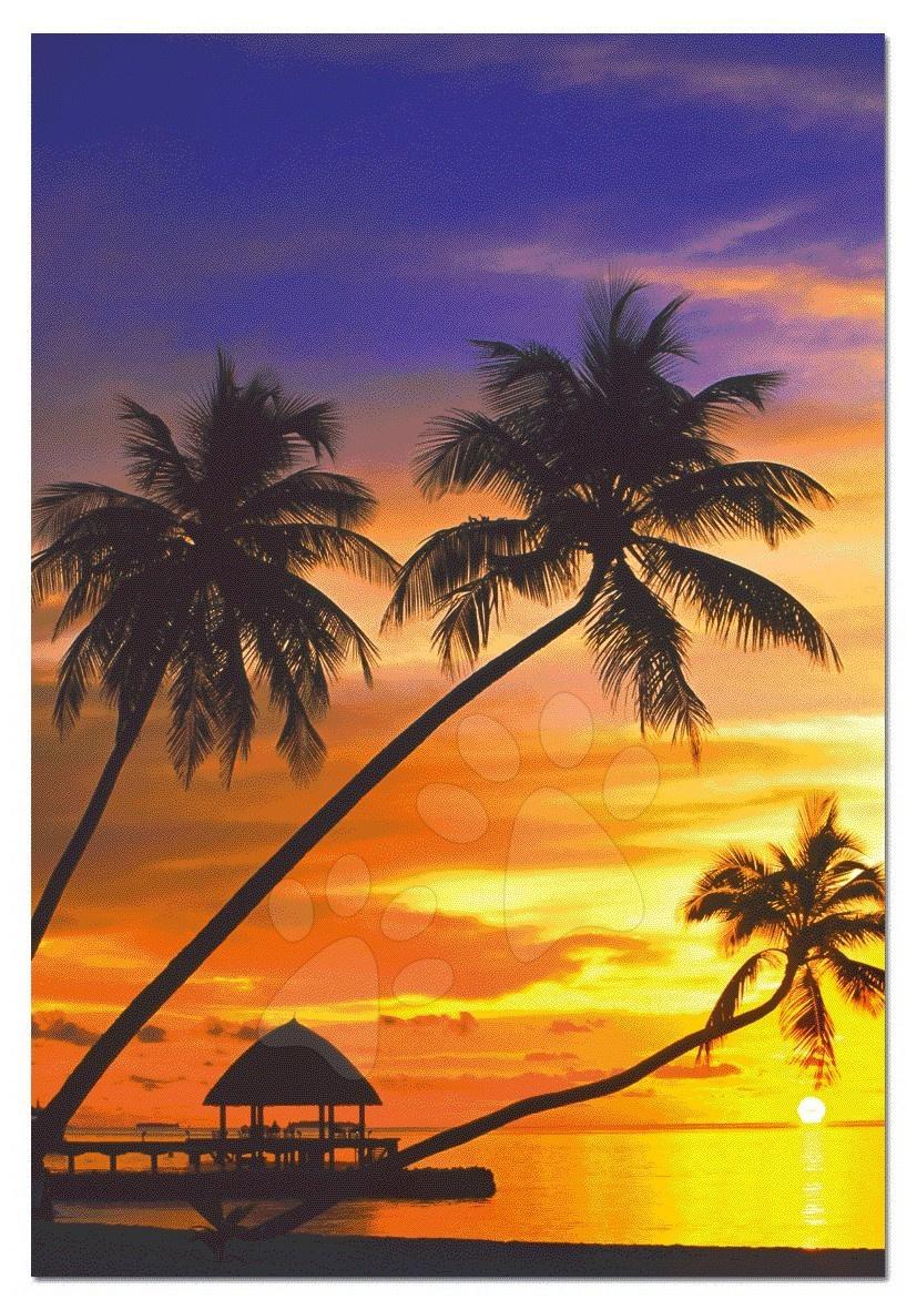 Puzzle západ slnka na Maldives Educa 1000 dielov