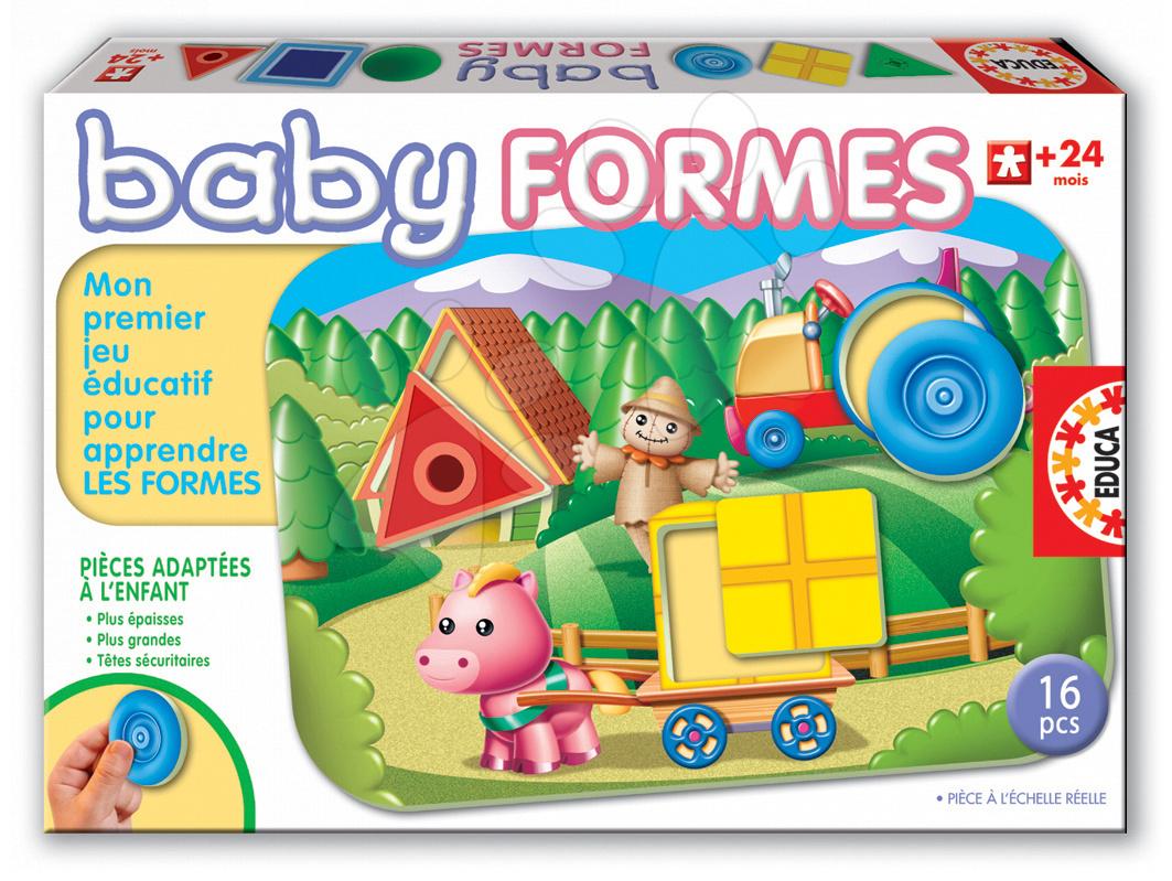Puzzle Baby Educational Formes Educa 16 dielov