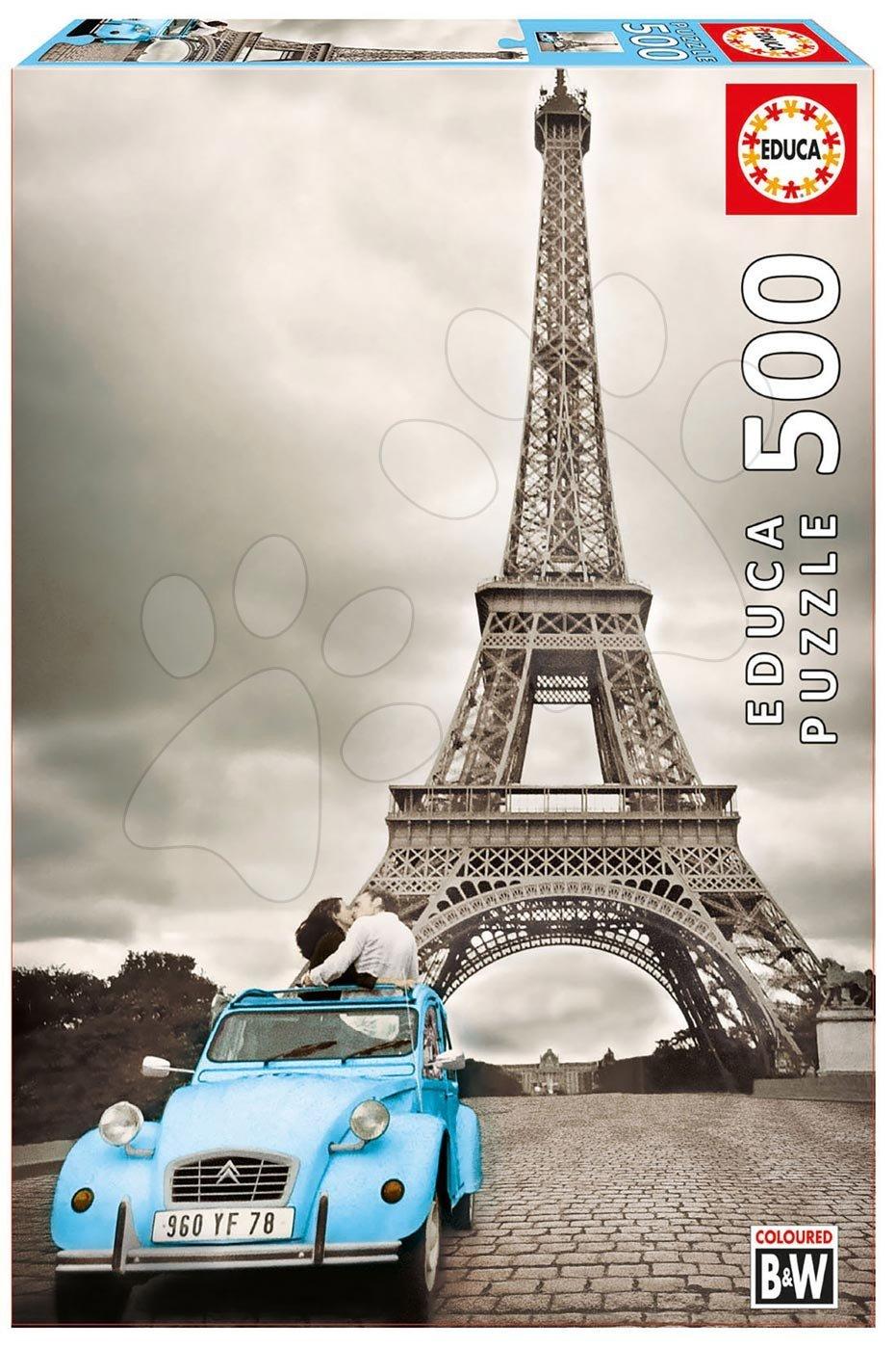 Puzzle Eiffelova veža Educa 500 dielov od 11 rokov