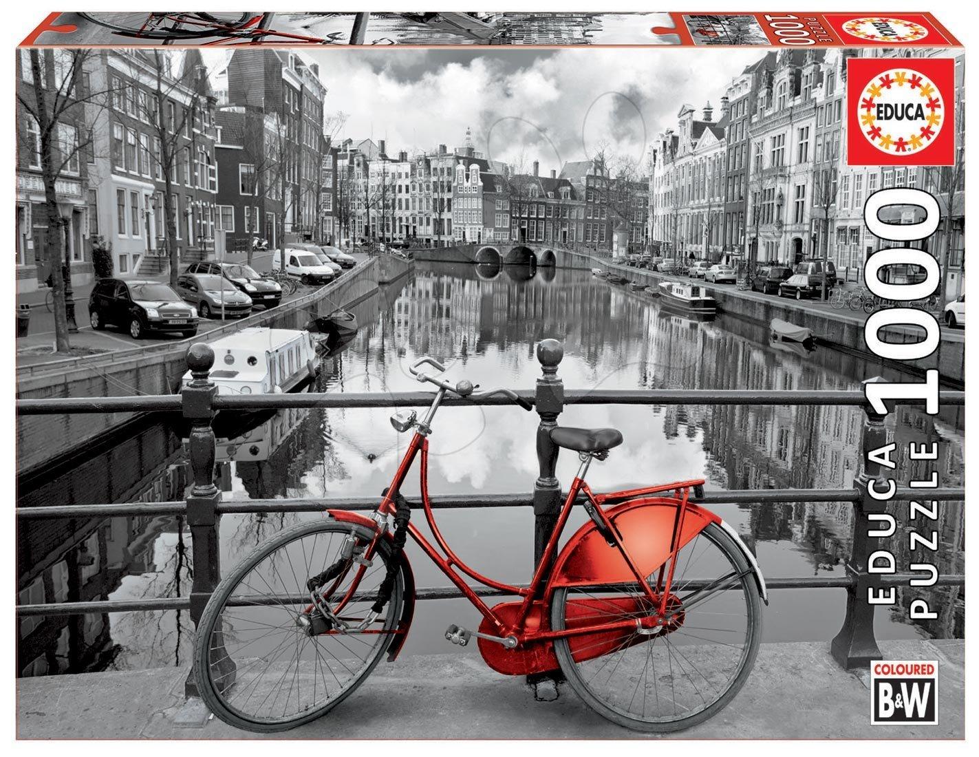 Educa Puzzle Amsterdam 1000 dielikov 14846 farebné