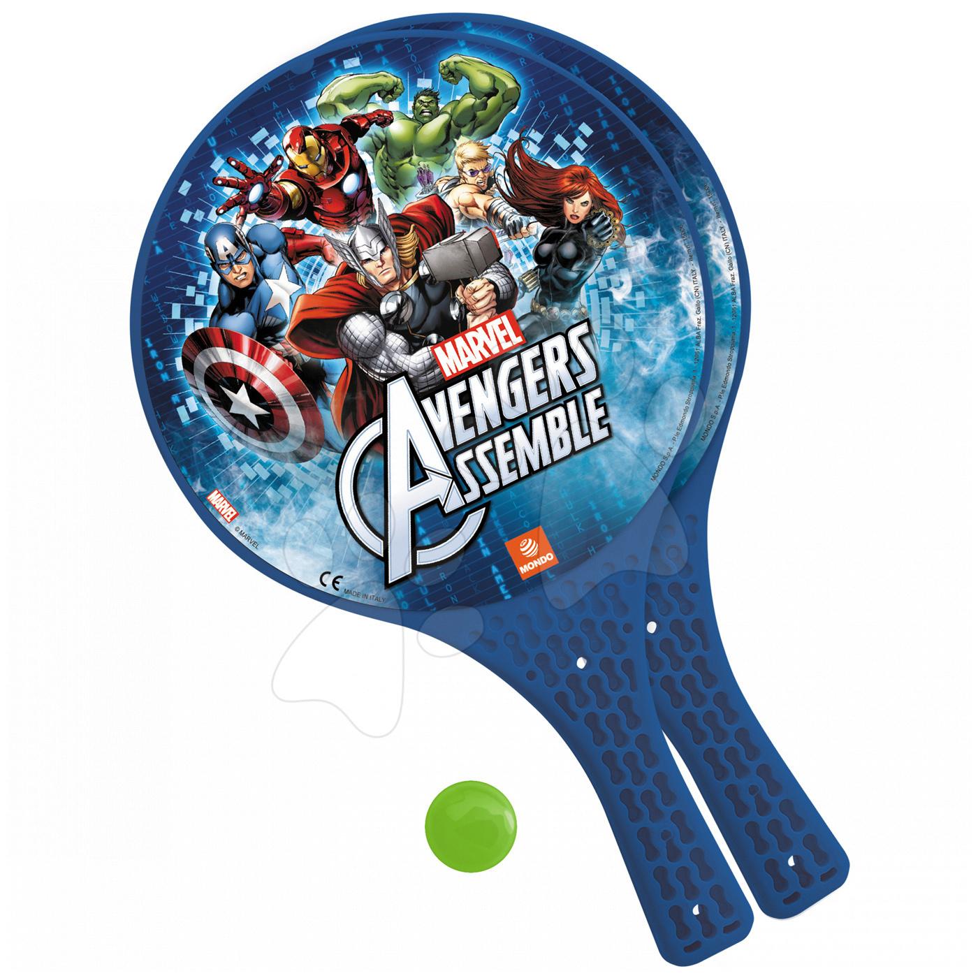Plážový tenis set Avengers Mondo s 2 raketami a míčkem