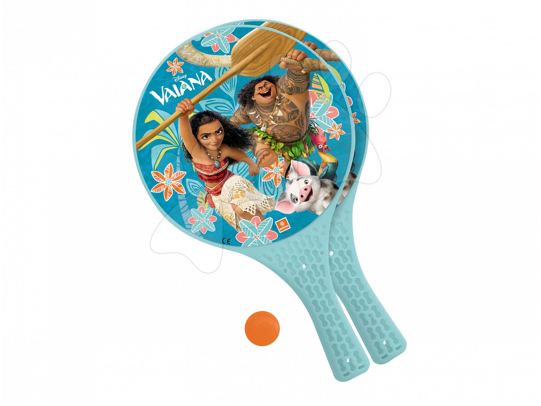 Plážový tenis Vaiana Mondo s 2 raketami a loptičkou