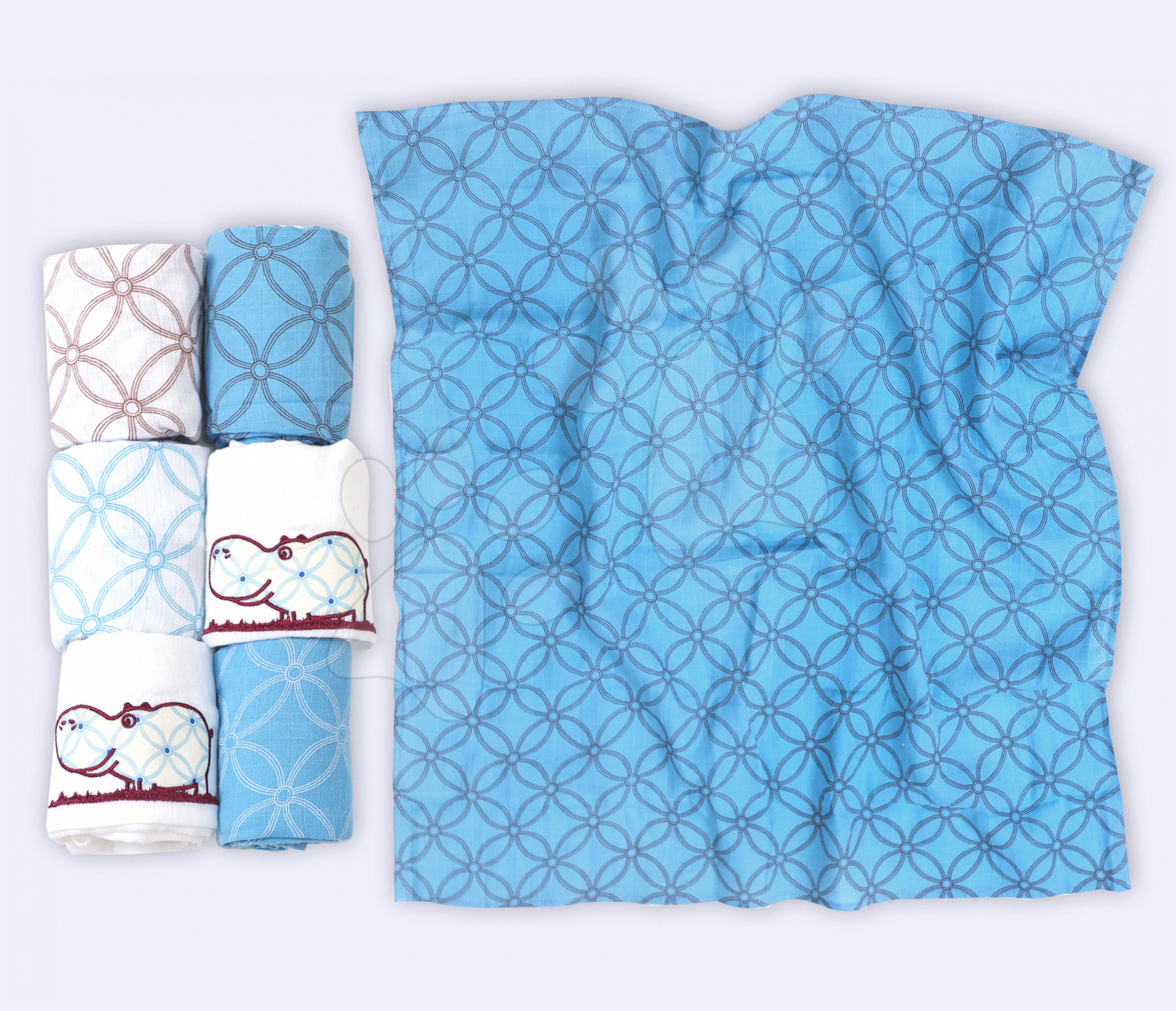 Bavlnené plienky pre bábätko toTs modré