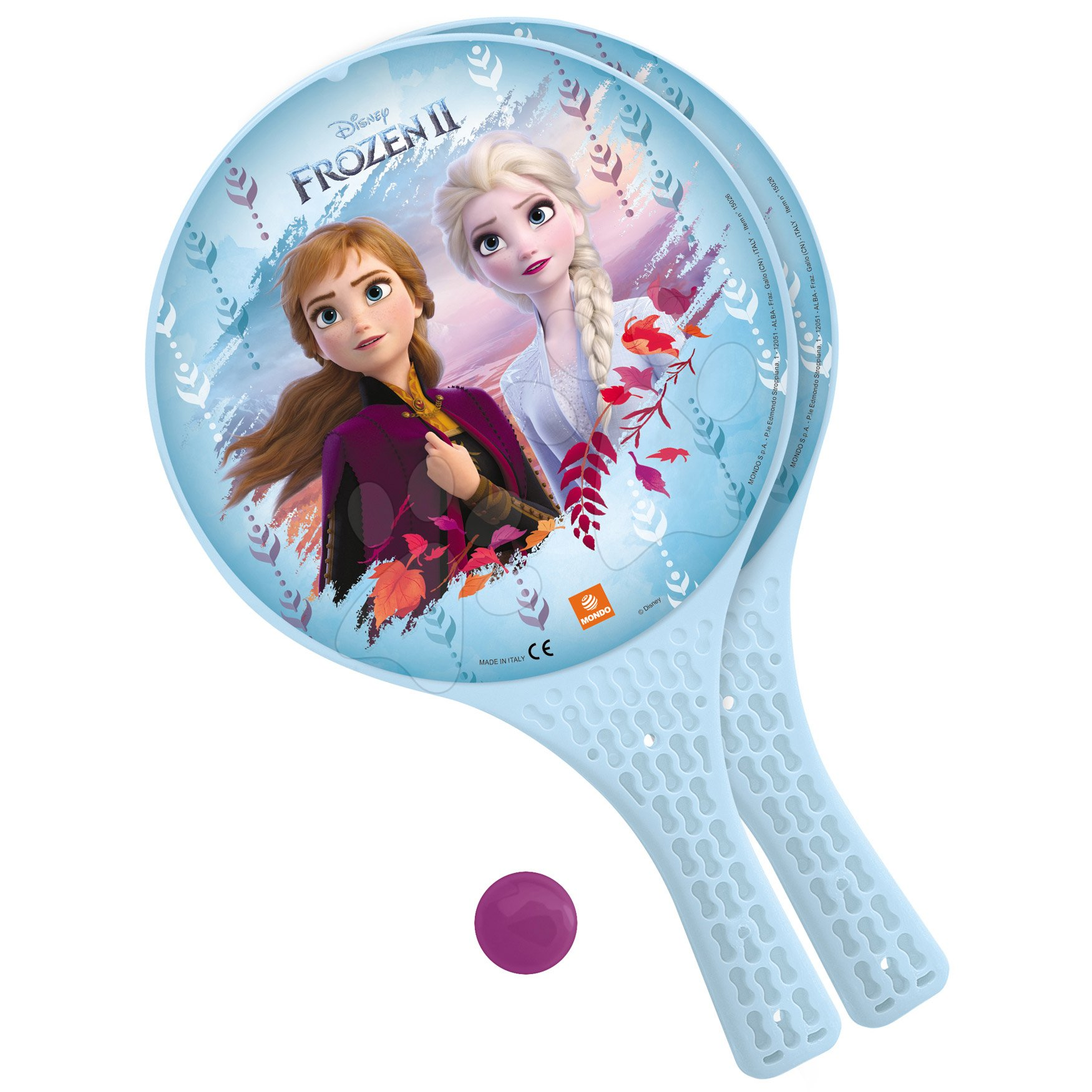 Tenis - Plážový tenis Frozen Mondo s 2 raketami a loptičkou