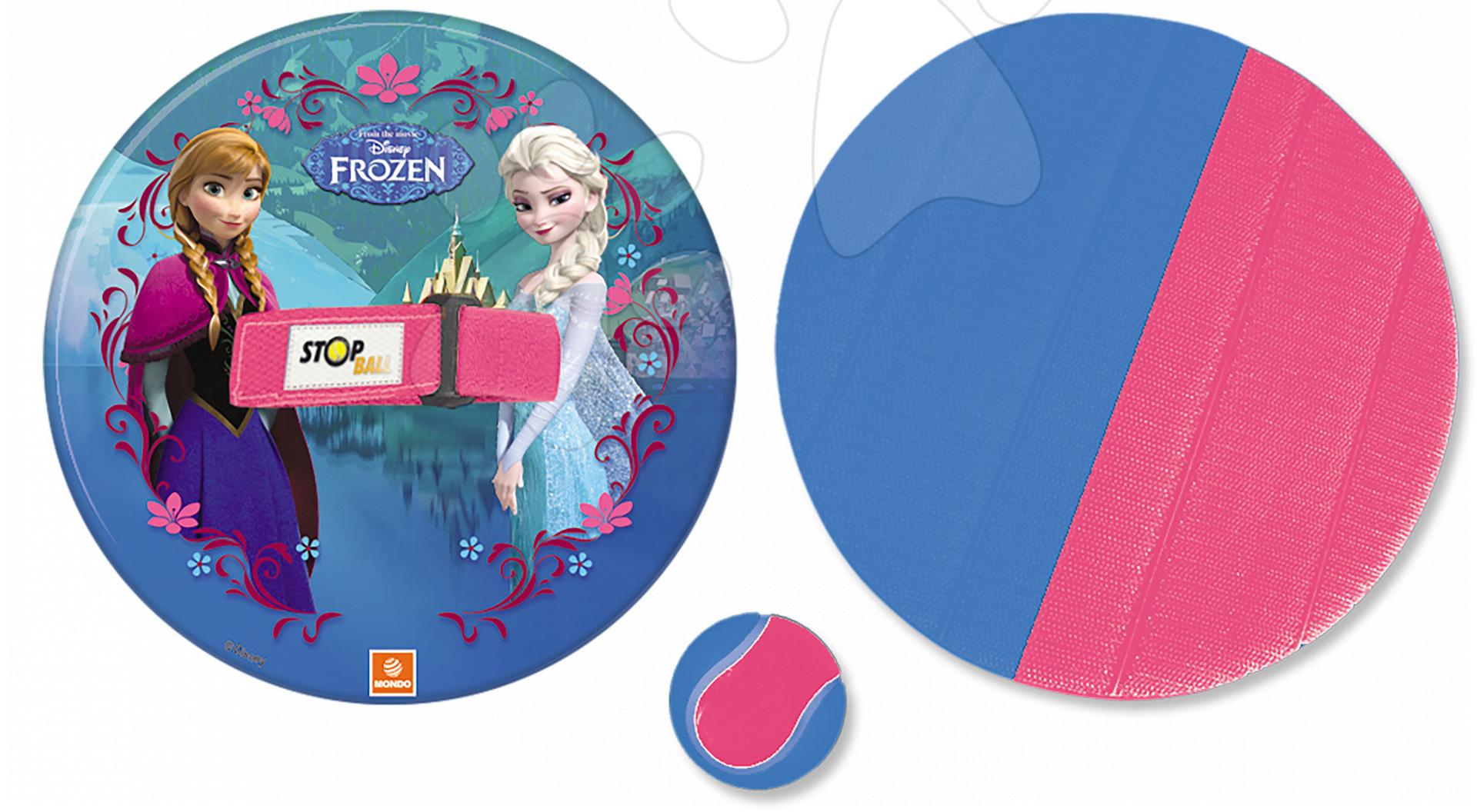 Plážová hra Frozen Stop Ball Mondo na suchý zip