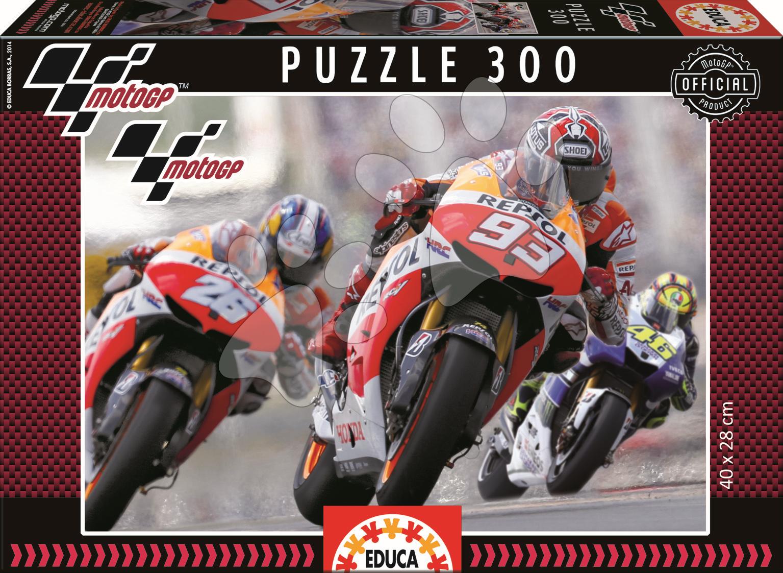Detské puzzle od 100-300 dielov - Puzzle Moto GP Educa 300 dielov od 8 rokov