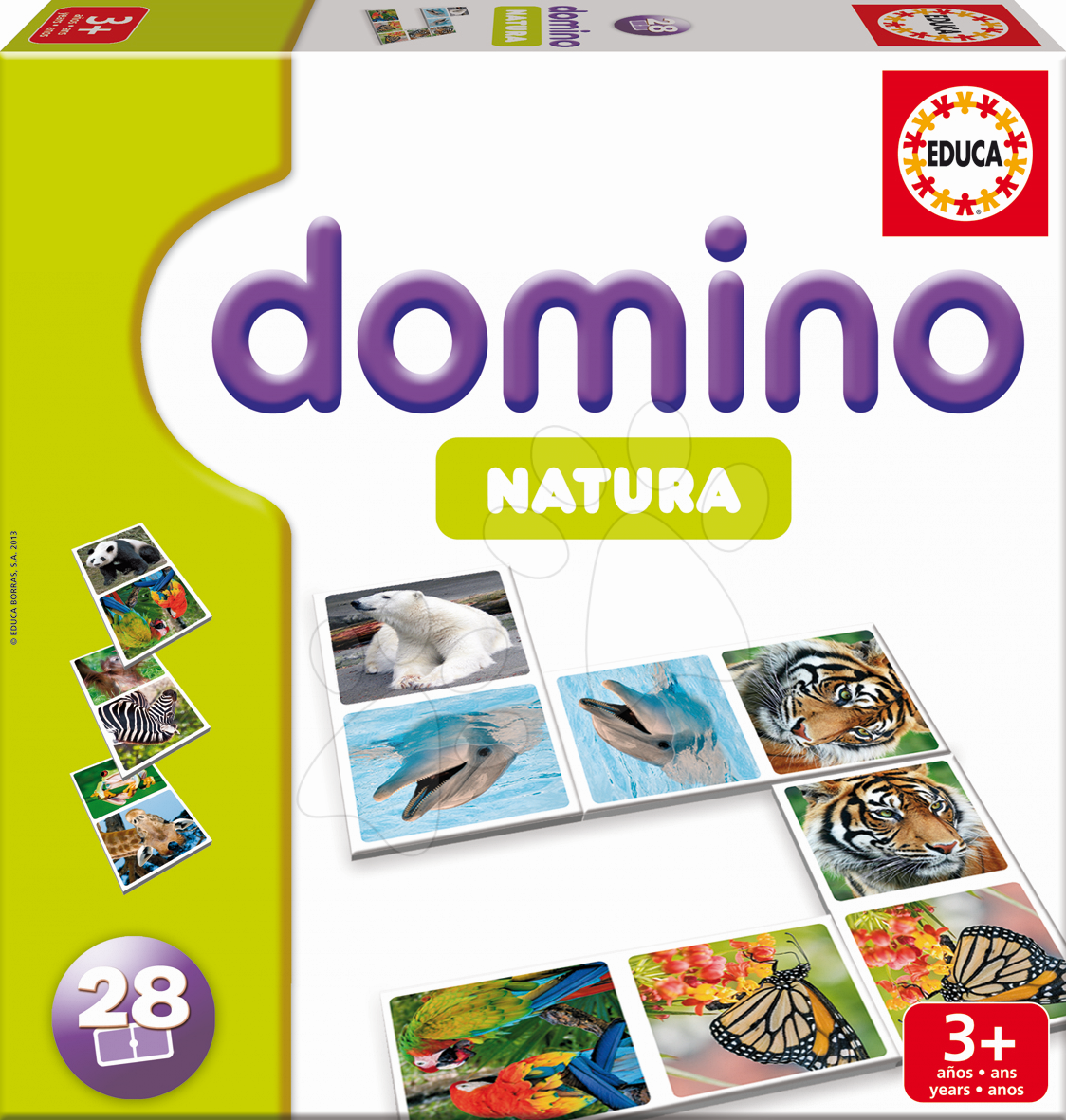 Domino Natura Zvířata Educa 28ks