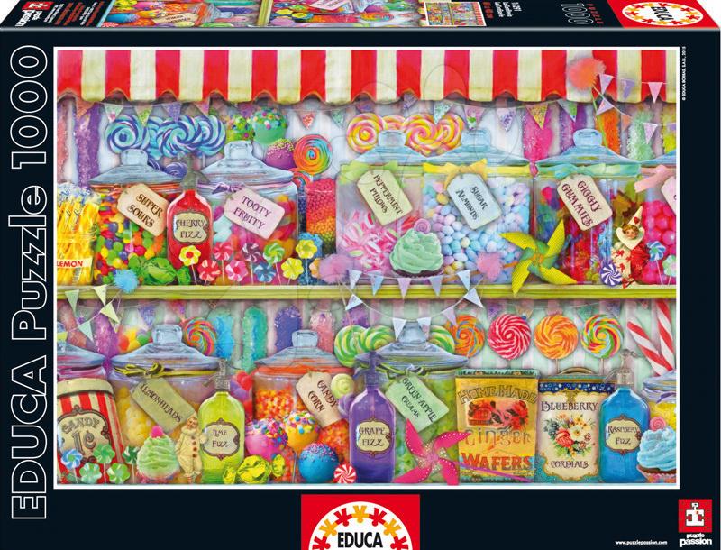 Educa Puzzle Genuine Candy Shop 1000 dielikov 16291 farebné
