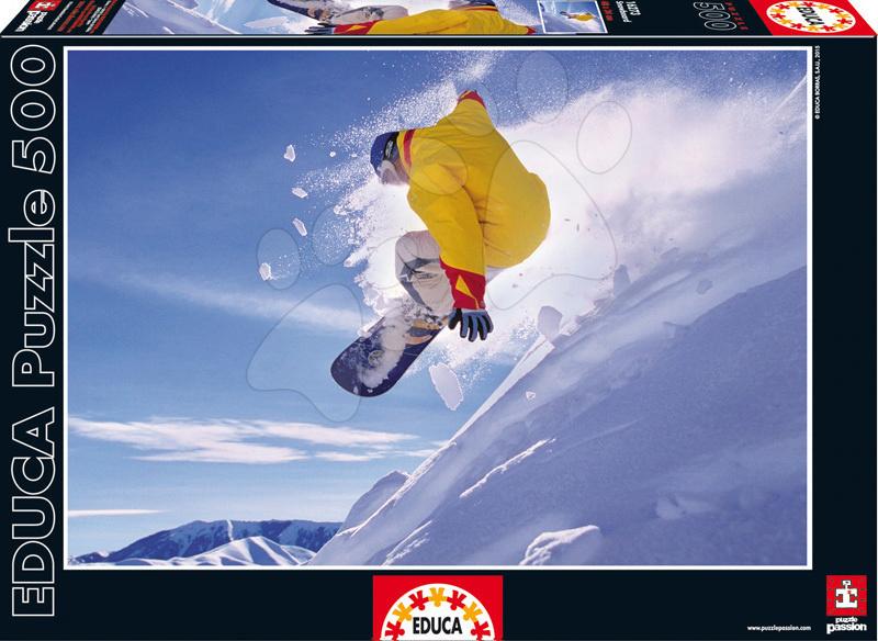 Educa Puzzle Snowboard 500 dielov 16273 farebné