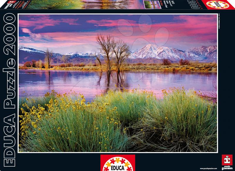 Puzzle 2000 dielne - Puzzle Genuine Summer's Surrender Educa 2000 dielov