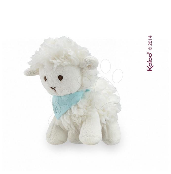 Plyšová ovečka Vanille Les Amis-Agneau Kaloo 19 cm v dárkovém balení pro nejmenší
