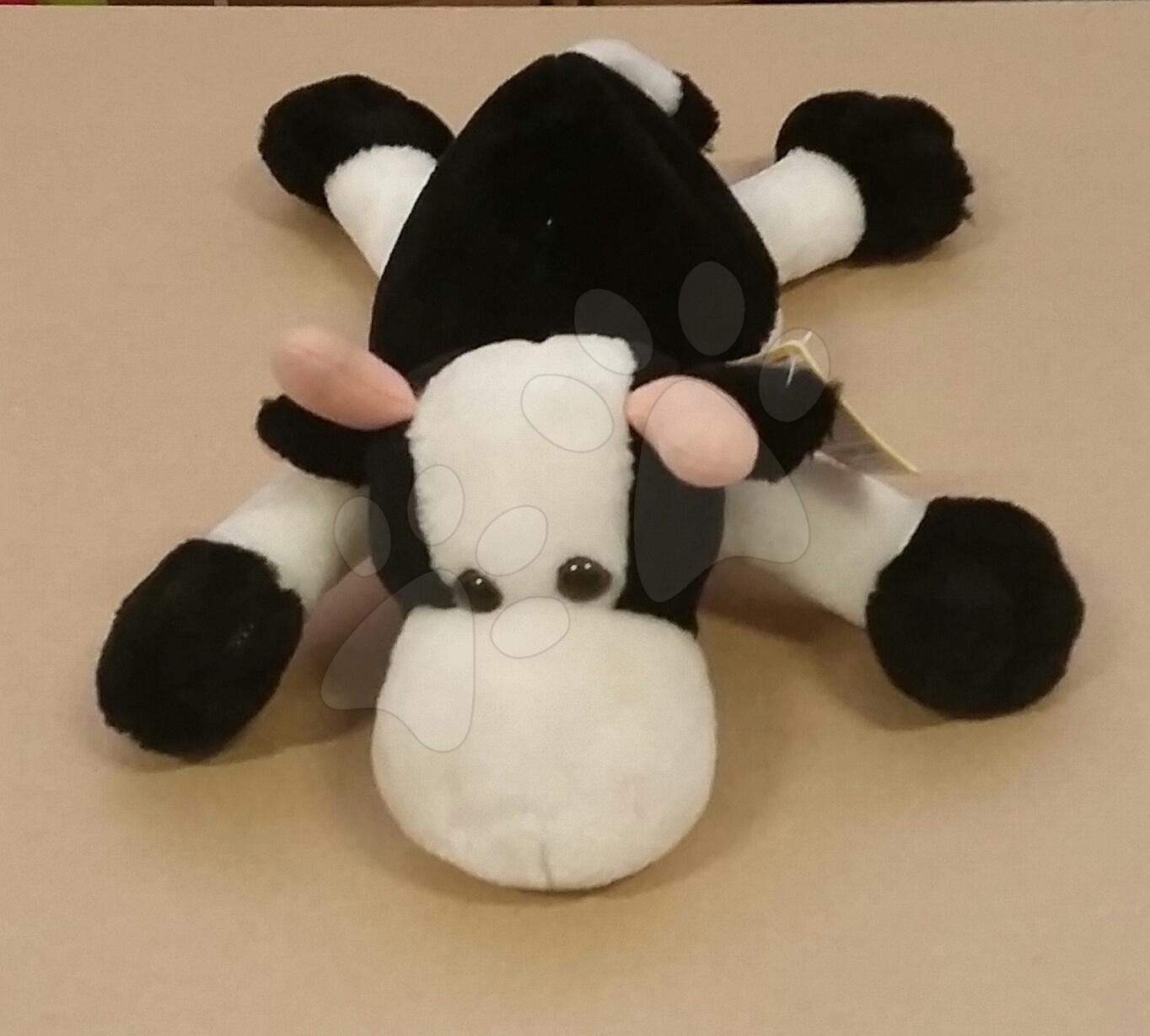 Plyšová kravička Disney Ilanit 30 cm černá