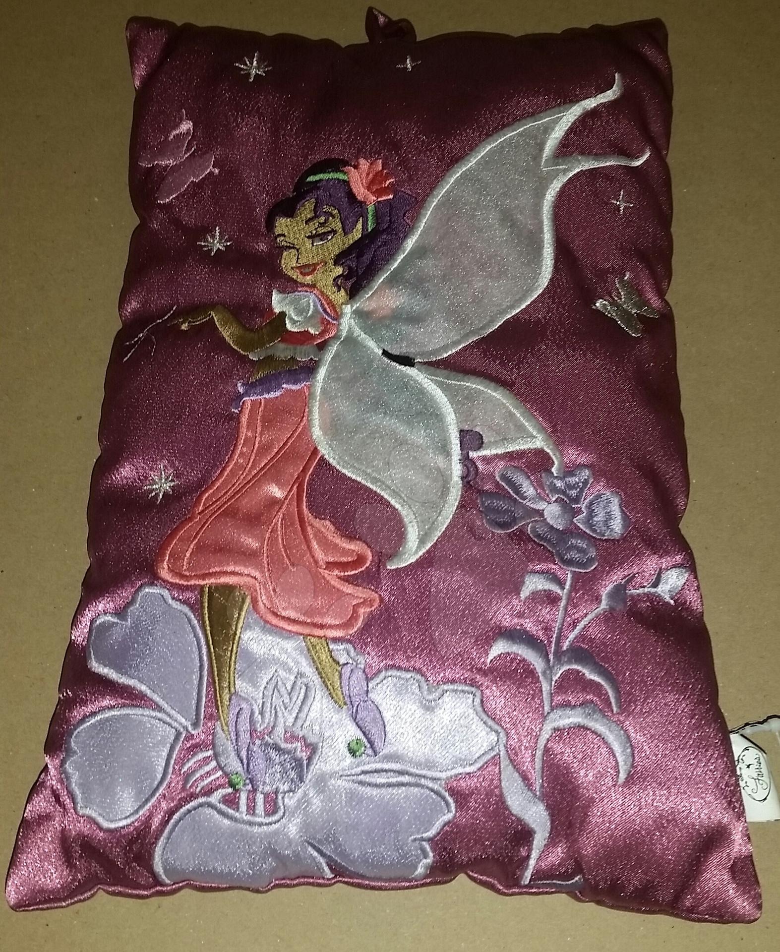 Polštářek Disney Víly Ilanit 26*18 cm fialový