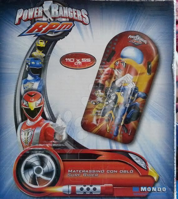 Nafukovací lehátko Power Rangers Mondo Surf Rider 110 cm