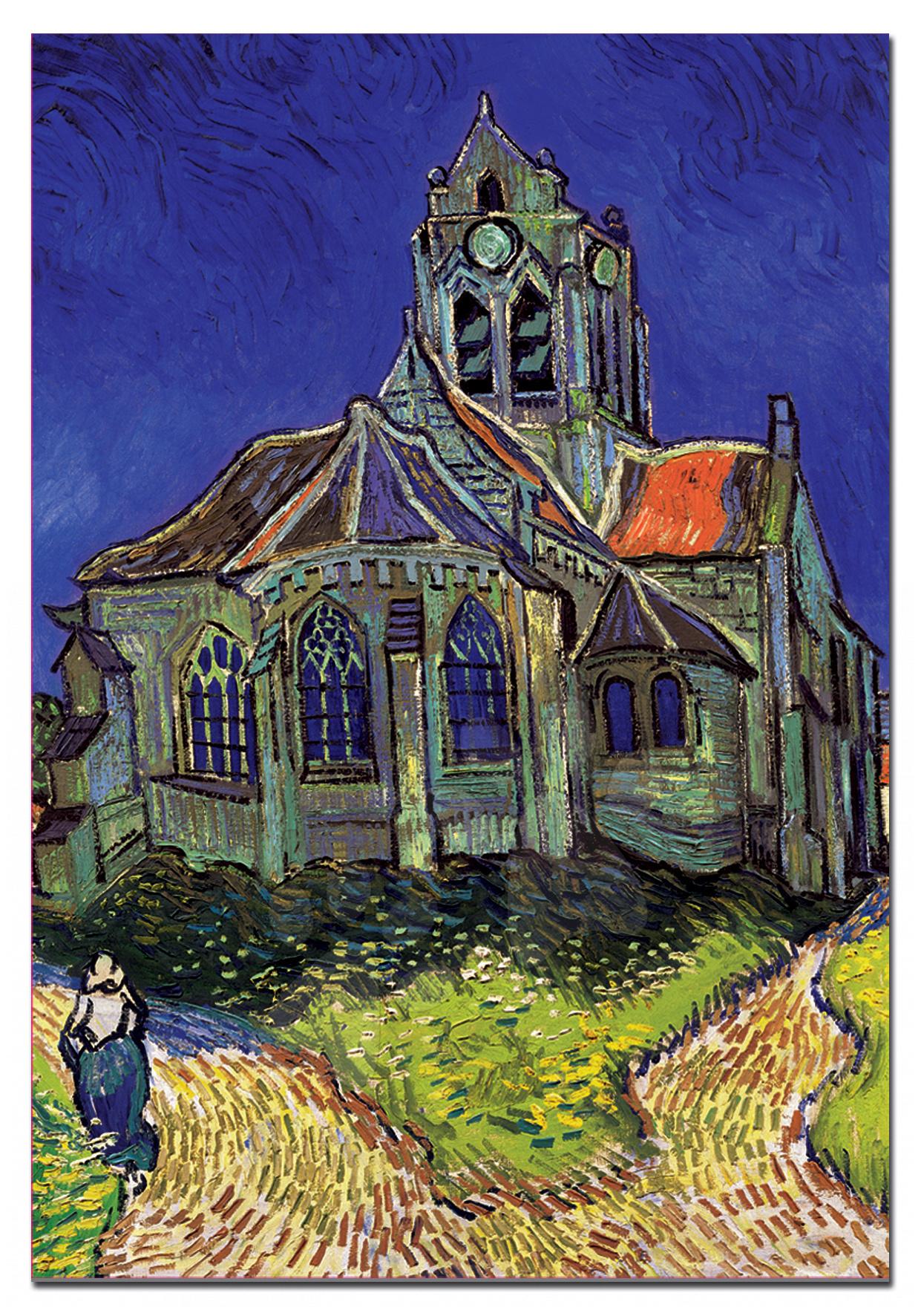 Puzzle Art Collection  Vincent van Gogh Educa 1500 dílků a FIX PUZZLE LEPIDLO