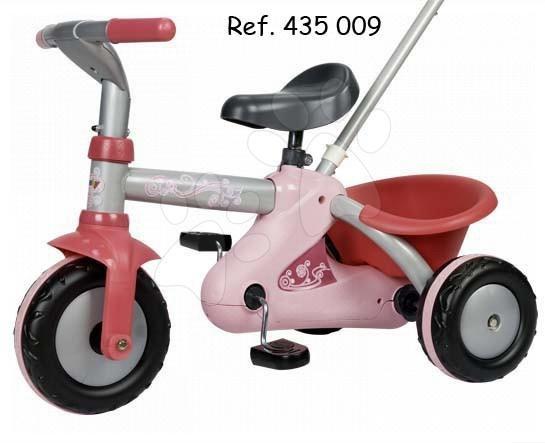 Trojkolky na reťazový pohon - Reťazová trojkolka Sport Line Trike Smoby ružovo-strieborná od 15 mes