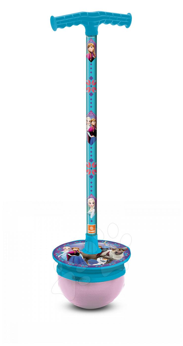 Detské skákadlá a hopsadlá - T-Ball tyč na skákanie Frozen Mondo 92 cm od 4 rokov