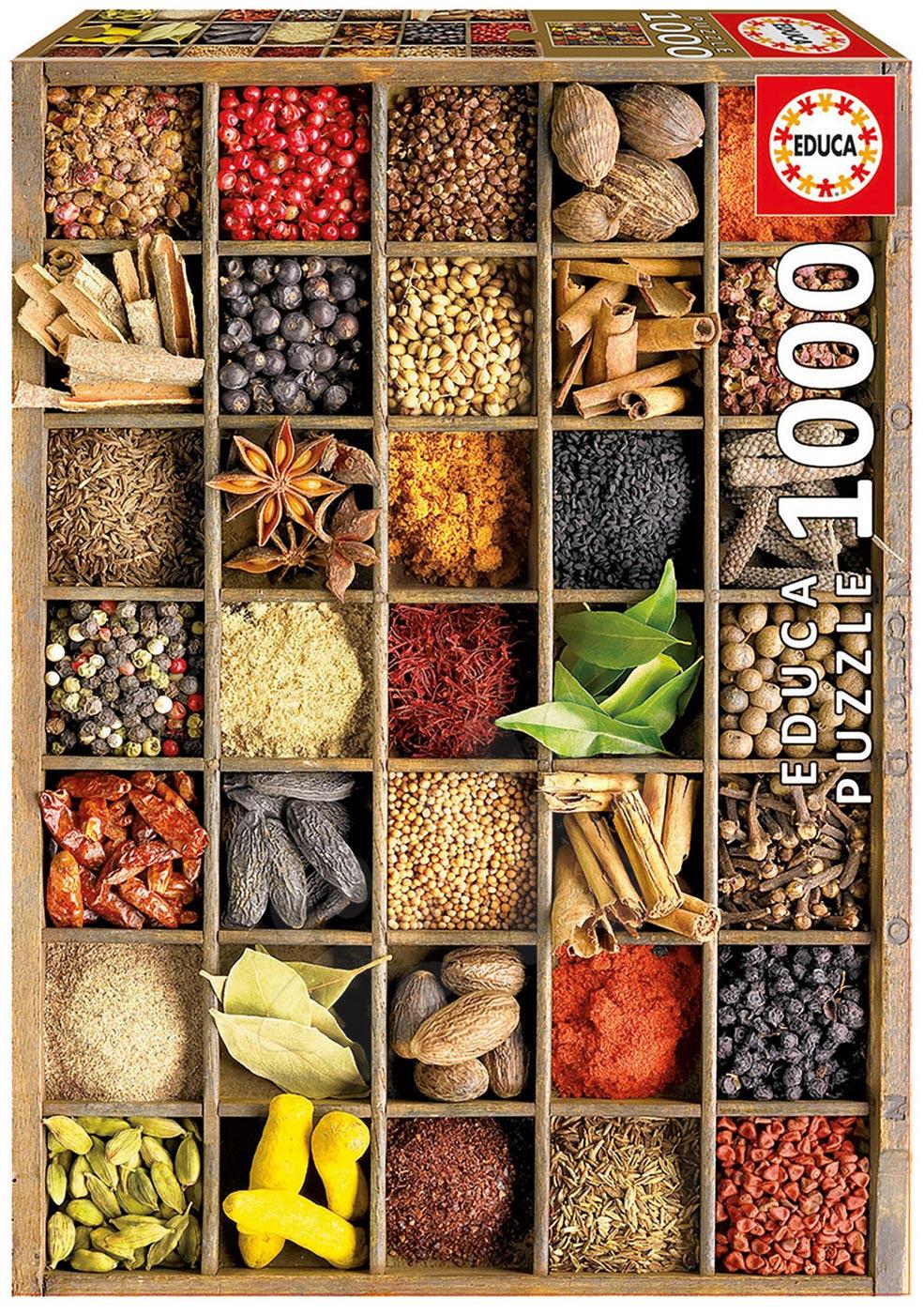 Educa Puzzle Spices 1000 dielikov 15524 farebné