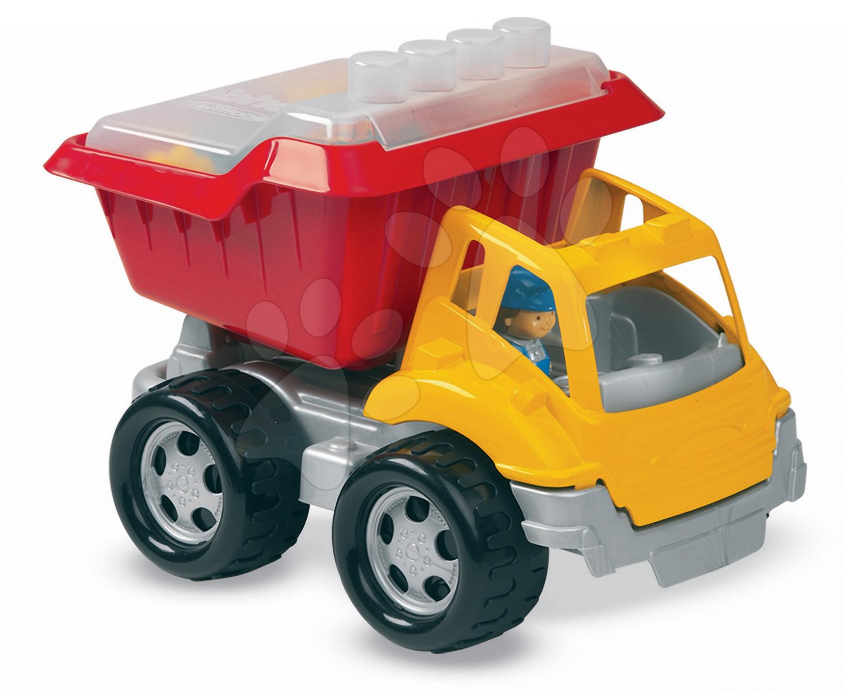Stavebnice Abrick – nákladní auto s kostkami Écoiffier od 18 měsíců od 18 měsíců