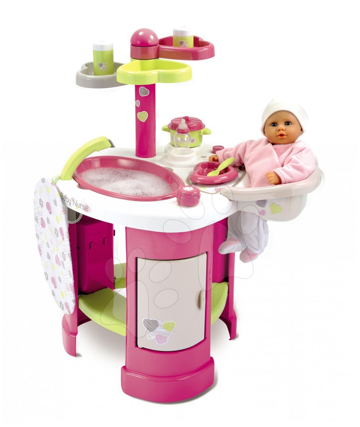 Régi termékek - Babacenter Baby Nurse Heart Smoby pelenkázó asztal
