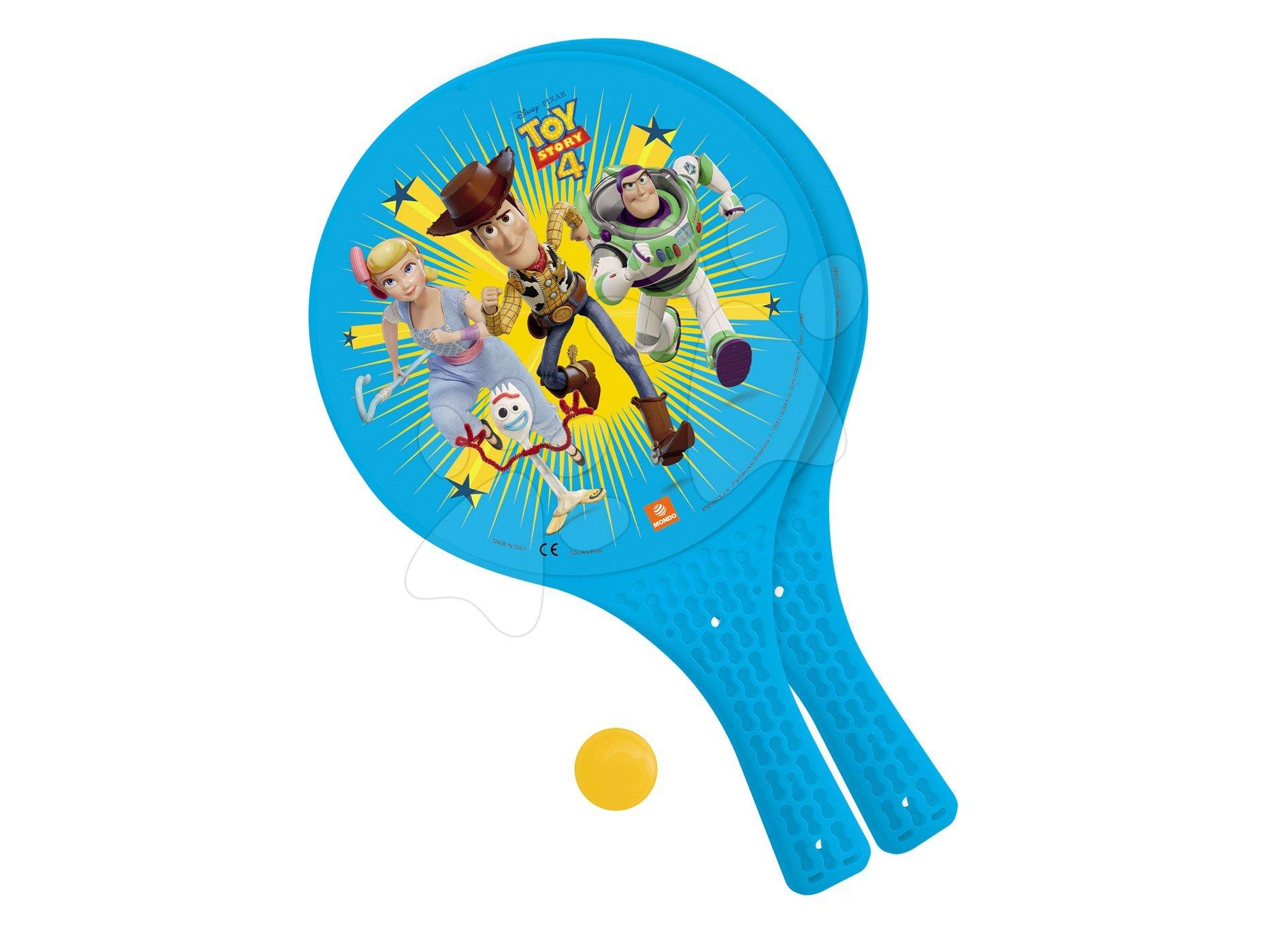 Plážový tenis Toy Story Mondo s 2 raketami a míčkem