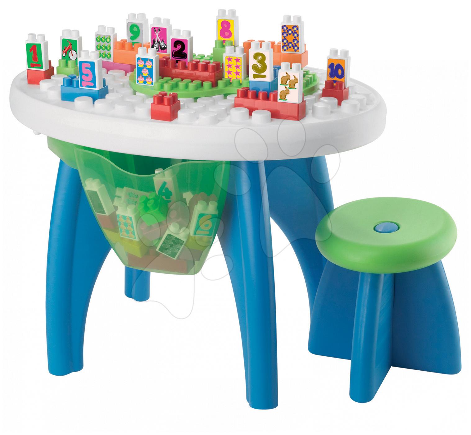 Régi termékek - Kreatív Asztal Számozott ÉpítőelemekkelÉcoiffier 43 db 18 hó-tól