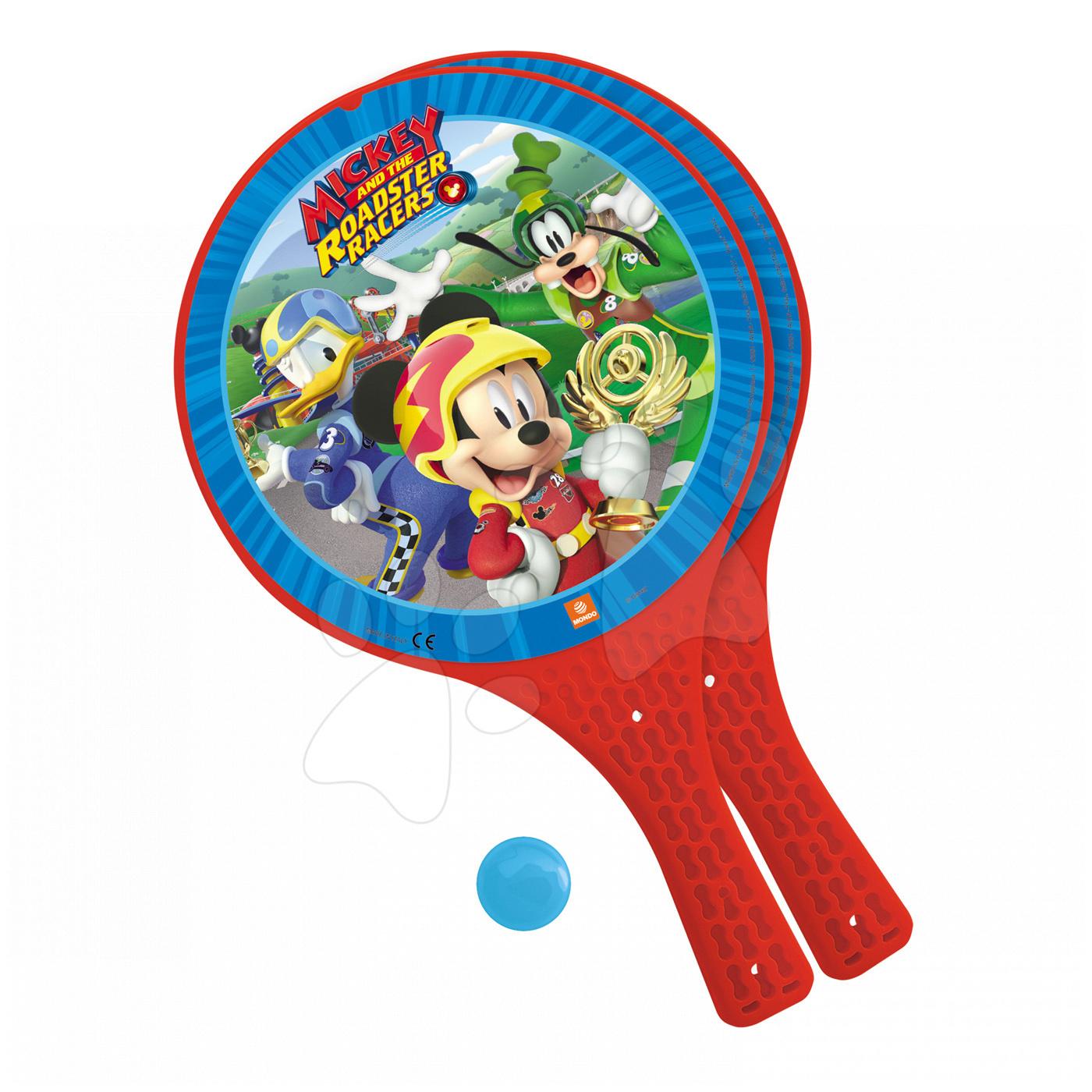 Plážový tenis set Mickey Mouse Mondo s 2 raketami a míčkem