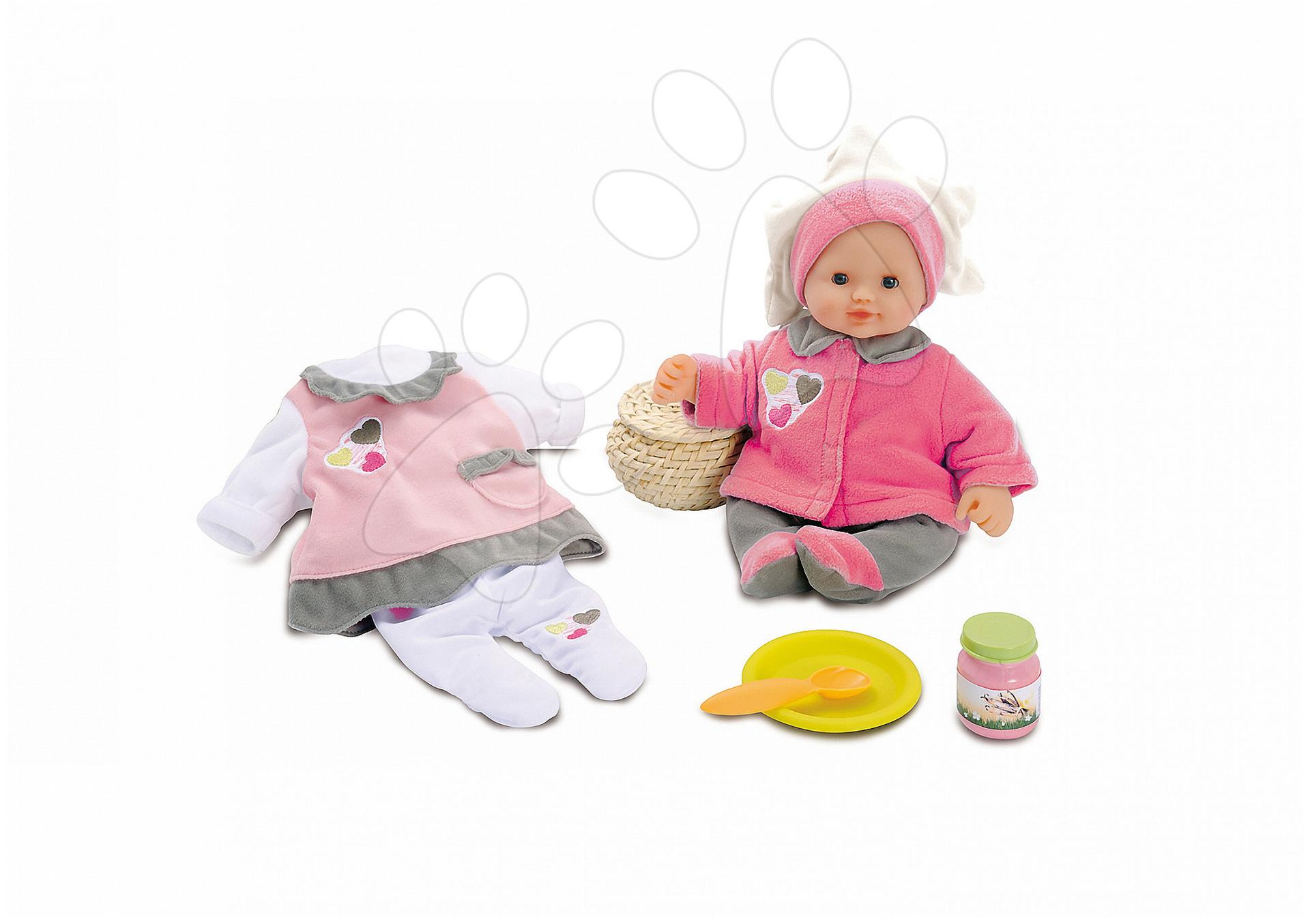 Panenka Baby Nurse Smoby se šatičkami 32 cm od 24 měsíců