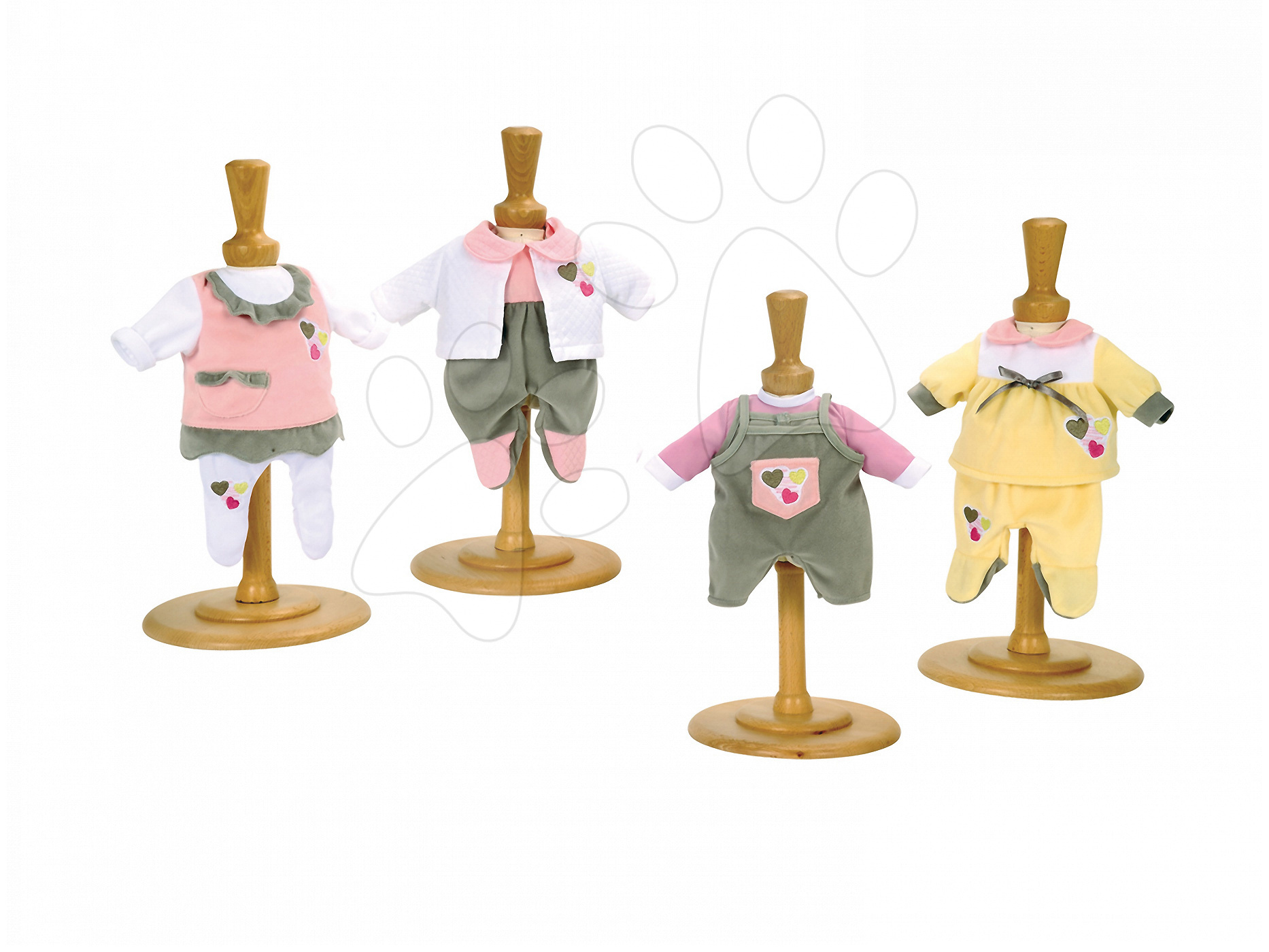 Oblečení pro panenky - Šatičky pro panenku Baby Nurse Smoby 32 cm 4 druhy