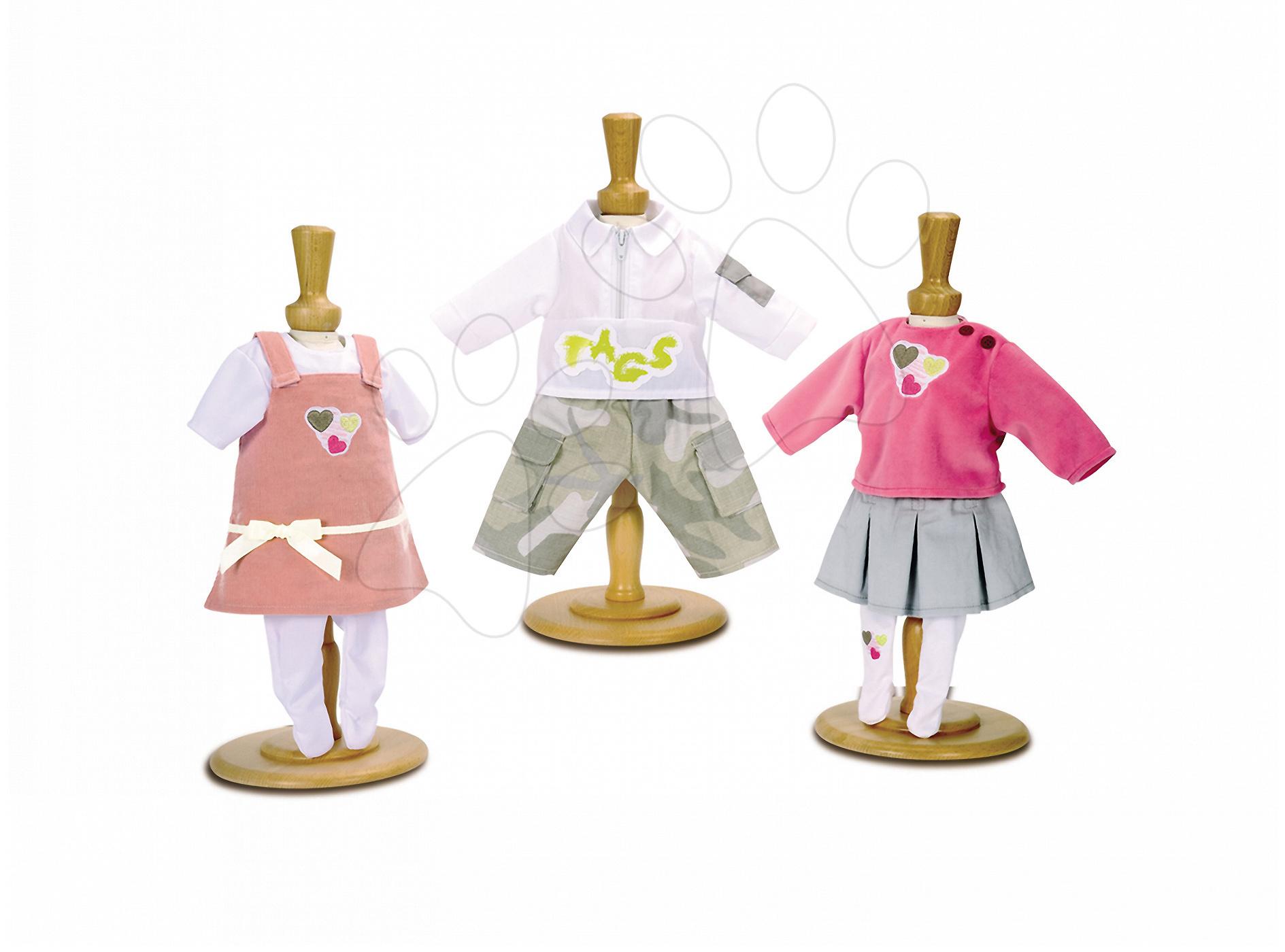 Oblečení pro panenky - Šaty pro panenku 42 cm Baby Nurse Smoby 3 druhy