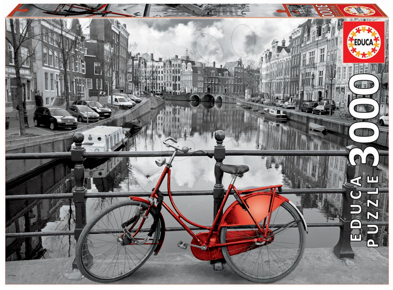 Educa Puzzle Genuine Amsterdam 3 000 dielov 16018 farebné