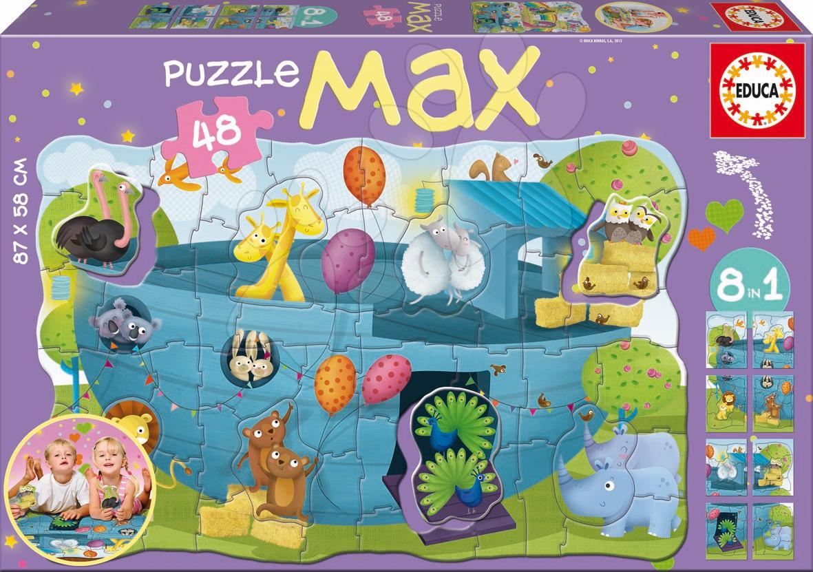 Puzzle Giant Noemova archa Educa 48 dílů
