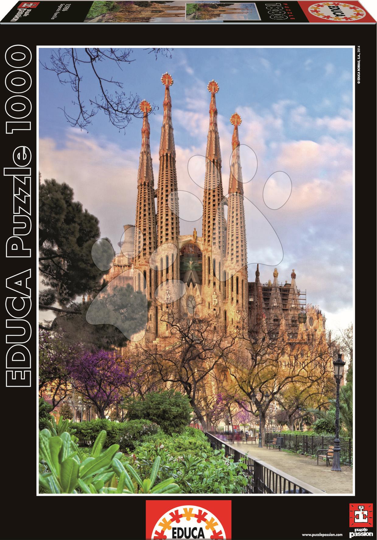 Puzzle Genuine Sagrada Familia Educa 1000 dílů od 12 let