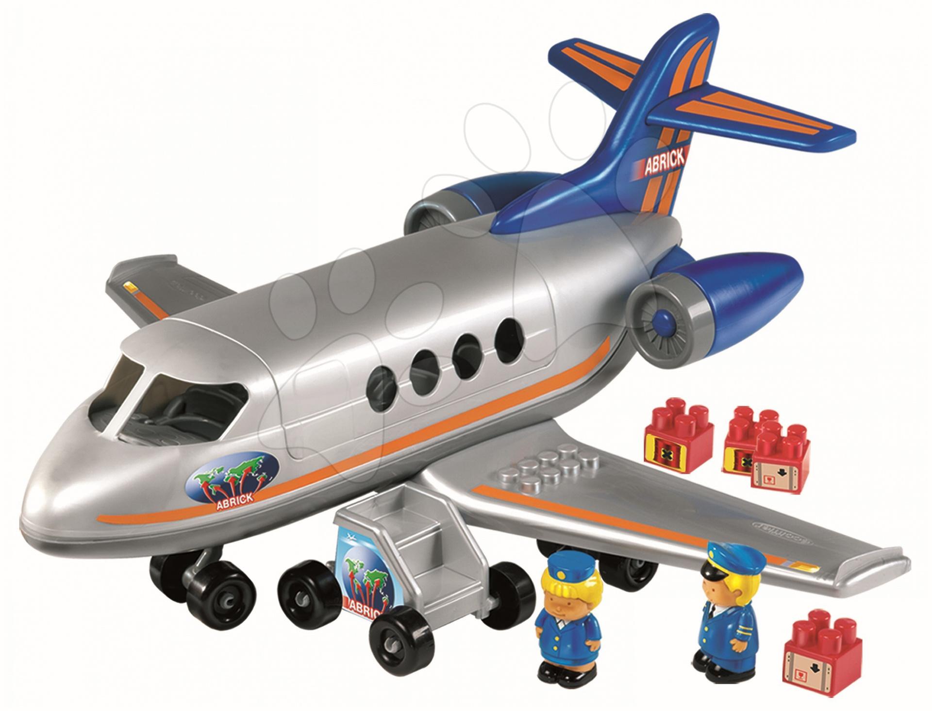 Stavebnice Abrick dopravní letadlo Écoiffier od 18 měsíců