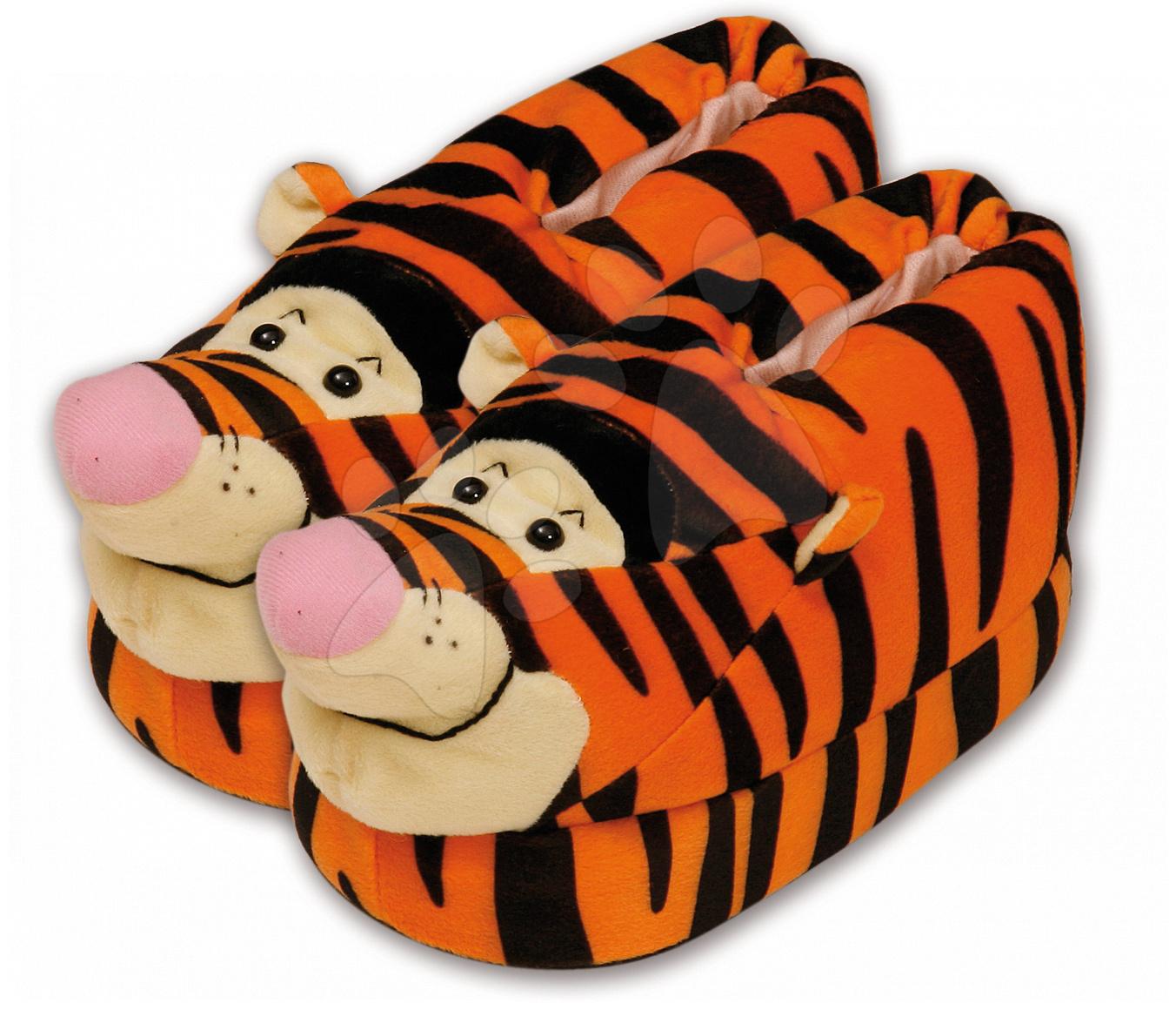 Staré položky - Plyšové papuče Macko Pooh - Tiger Ilanit veľkosť 33-36, 25-28