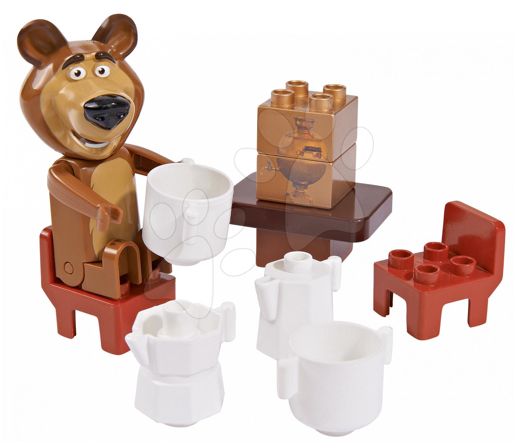 Stavebnice BIG-Bloxx jako lego - Stavebnice Miša v jídelně PlayBIG Bloxx BIG 7-11 dílů od 1,5-5 let