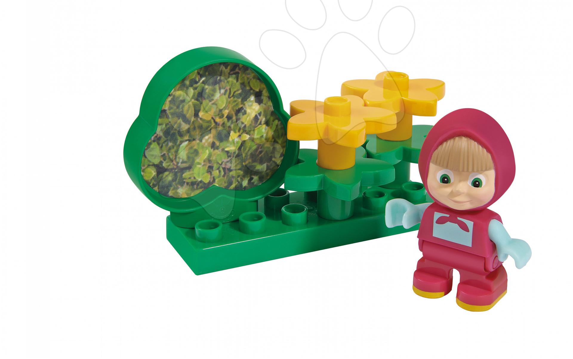 Stavebnice BIG-Bloxx ako lego - Stavebnica Máša v záhrade PlayBIG Bloxx BIG 7-11 dielov od 1,5-5 rokov