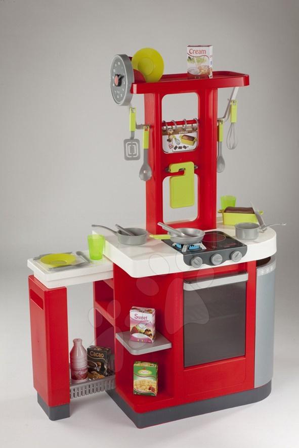Staré položky - Loft kuchynka Cook Plus Smoby elektrická 102 cm vysoká s doplnkami